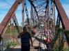 Cruzando la frontera puede ser más que una aventura y puede resultar en experiencias duraderas. Aquí el puente que conecta Costa Rica y Panama al lado caribeña – Foto 18/Costa Rica-Panama
